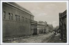 Lauenburg i. Pom. : Danziger Strasse mit Schauburg
