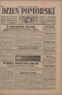 Dzień Pomorski 1933.09.16, R. 5 nr 212