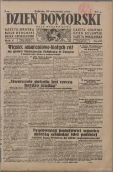 Dzień Pomorski 1933.09.23, R. 5 nr 218
