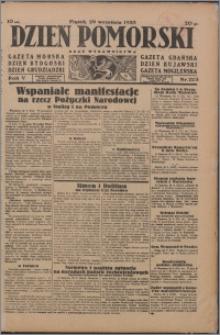 Dzień Pomorski 1933.09.29, R. 5 nr 223