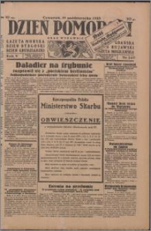 Dzień Pomorski 1933.10.19, R. 5 nr 240