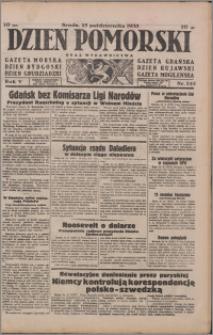 Dzień Pomorski 1933.10.25, R. 5 nr 245