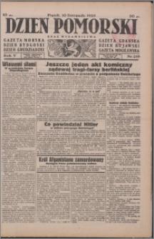 Dzień Pomorski 1933.11.10, R. 5 nr 258