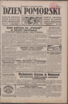 Dzień Pomorski 1933.12.03, R. 5 nr 278