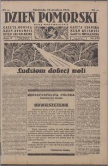 Dzień Pomorski 1933.12.24, R. 5 nr 295
