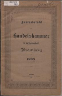 Jahresbericht der Handelskammer für den Regierungsbezirk Bromberg für 1899