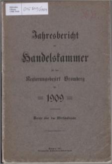 Jahresbericht der Handelskammer für den Regierungsbezirk Bromberg für 1909