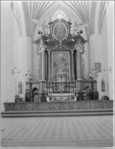 Dobre Miasto [Kościół parafialny pw. Najświętszego Zbawiciela i Wszystkich Świętych - ołtarz główny]