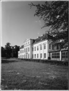 Drogosze [Pałac rodu von Dönhoff - elewacja ogrodowa]