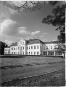 Drogosze [Pałac rodu von Dönhoff - widok od strony ogrodu]