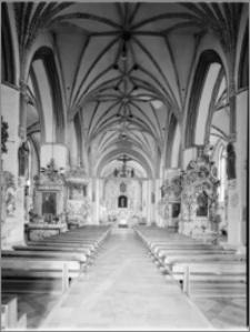 Brodnica. Kościół pw. Św. Katarzyny, wnętrze