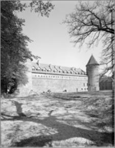 Bytów. Zamek. Elewacja południowa zamku