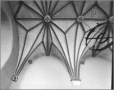 Bydgoszcz. Kościół Garnizonowy pw. Matki Bożej Królowej Pokoju. Wnętrze, fragment sklepienia prezbiterium