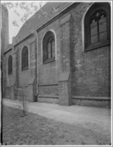 Bydgoszcz. Kościół Garnizonowy pw. Matki Bożej Królowej Pokoju. Ściana północna