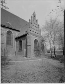 Bydgoszcz. Kościół Garnizonowy pw. Matki Bożej Królowej Pokoju. Kaplica od strony południowej