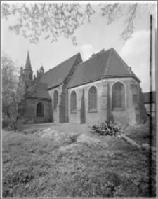 Bydgoszcz. Kościół Garnizonowy pw. Matki Bożej Królowej Pokoju. Widok od strony południowo-wschodniej