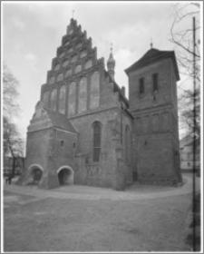 Bydgoszcz. Katedra św. Marcina i Mikołaja. Elewacja zachodnia