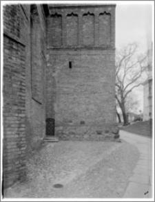 Bydgoszcz. Katedra św. Marcina i Mikołaja. Przepierzenie wieży