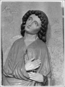 Chełmża. Kościół Parafialny Św. Trójcy [ob. Konkatedra Św. Trójcy]. Wnętrze-detal rzeźby