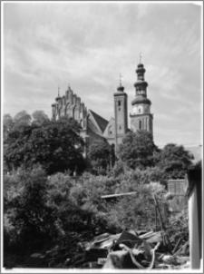 Chełmża. Kościół Parafialny Św. Trójcy [ob. Konkatedra Św. Trójcy]. Fragment elewacji wschodniej
