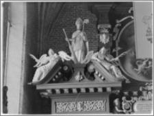 Chełmża. Kościół Parafialny Św. Trójcy [ob. Konkatedra Św. Trójcy]. Wnętrze-ołtarz główny fragment