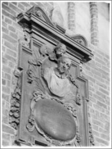 Chełmża. Kościół Parafialny Św. Trójcy [ob. Konkatedra Św. Trójcy]. Epitafium bp Adama Kosa