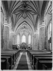 Chociwel. Kościół pw. Matki Boskiej Bolesnej - wnętrze