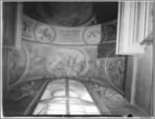 Kraków [Kościół pw. św. Andrzeja – sklepienie na emporze, sztukateria autorstwa Baltazara Fontany]