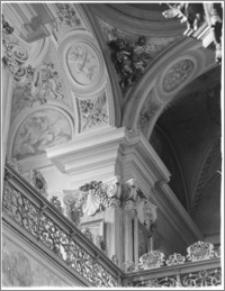 Kraków [Kościół pw. św. Andrzeja – wnętrze – filar przy emporze płd., sztukateria autorstwa Baltazara Fontany]