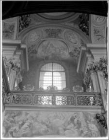 Kraków [Kościół pw. św. Andrzeja – wnętrze – empora nad nawą płn., sztukateria autorstwa Baltazara Fontany]
