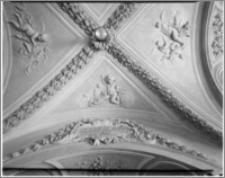 Kraków [Kościół pw. św. Andrzeja – wnętrze – sklepienie pod chórem muzycznym, sztukateria Baltazara Fontany]