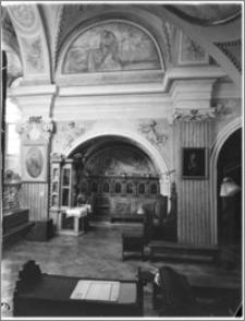 Kraków [Kościół pw. św. Andrzeja – empora, sztukateria autorstwa Baltazara Fontany]