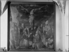 Kraków [Kościół pw. św. Anny - wnętrze, obraz, sztukateria autorstwa Baltazara Fontany]