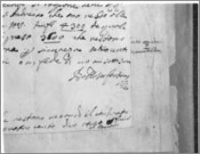 Kraków [Kościół pw. św. Anny – podpis Baltazara Fontany]