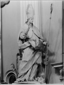Kraków [Kościół pw. św. Anny – wnętrze – fragment ołtarza głównego św. Stanisław, sztukateria autorstwa Baltazara Fontany]