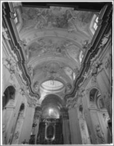 Kraków [Kościół pw. św. Anny – wnętrze – sklepienie,sztukateria autorstwa Baltazara Fontany]