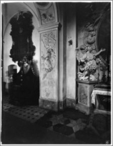 Kraków [Kościół pw. św. Anny – nawa boczna, sztukateria autorstwa Baltazara Fontany]