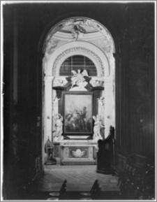 Kraków [Kościół pw. św. Anny – ołtarz boczny, sztukateria autorstwa Baltazara Fontany]
