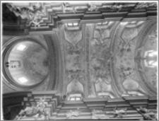 Kraków [Kościół pw. św. Anny – wnętrze – sklepienie prezbiterium, sztukateria autorstwa Baltazara Fontany]