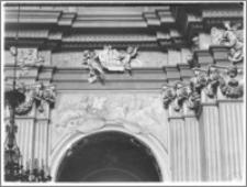 Kraków [Kościół pw. św. Anny – nawa główna, sztukateria autorstwa Baltazara Fontany]