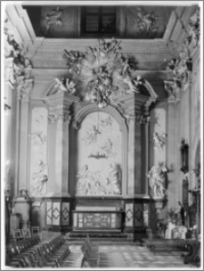 Kraków [Kościół pw. św. Anny – transept – ołtarz w skrzydle płn., sztukateria autorstwa Baltazara Fontany]