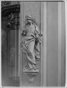 Kraków [Kościół św. Anny – figura, sztukateria autorstwa Baltazara Fontany]