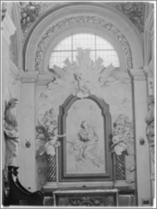 Kraków [Kościół pw. św. Anny – ołtarz św. Katarzyny Aleksandryjskiej, sztukateria autorstwa Baltazara Fontany]