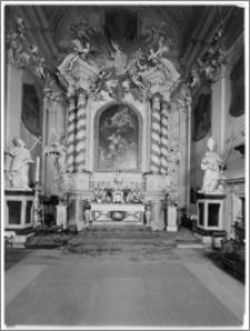 Kraków [Kościół pw. św. Anny – ołtarz główny, sztukateria autorstwa Baltazara Fontany]