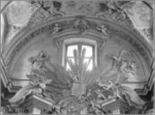 Kraków [Kościół pw. św. Anny – ołtarz główny, zwieńczenie, sztukateria autorstwa Baltazara Fontany]