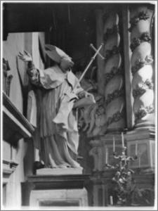 Kraków [Kościół pw. św. Anny – fragment ołtarza głównego, sztukateria autorstwa Baltazara Fontany]