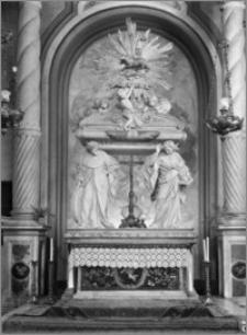 Kraków [Kościół pw. św. Anny – fragment konfesji, sztukateria autorstwa Baltazara Fontany]