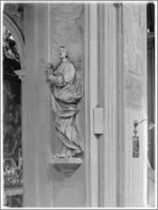 Kraków [Kościół pw. św. Anny – rzeźba św. Agnieszki, sztukateria autorstwa Baltazara Fontany]