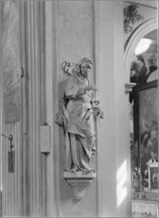 Kraków [Kościół pw. św. Anny – rzeźba św. Anny, sztukateria autorstwa Baltazara Fontany]