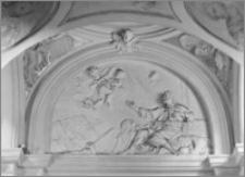 Kraków [Kościół pw. św. Anny - nawa boczna, kaplica św. Sebastiana, sztukateria autorstwa Baltazara Fontany]